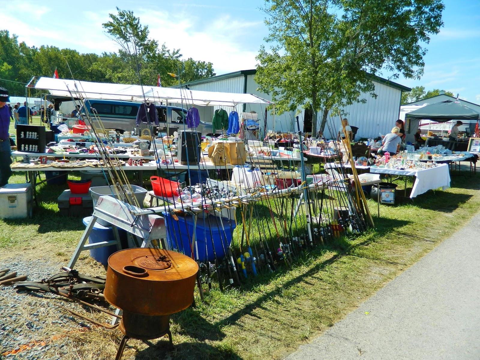 Flat rock creek fall festival paulding my review for Fishing flea market near me