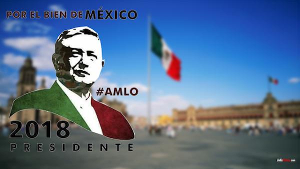 Obrador  afirma que 2018 será la última:Vivo en Palacio Nacional o me retiro.