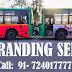 Low Floor Bus Advertising in Jaipur JCTSL   In Quotes Media Advertisers in Jaipur