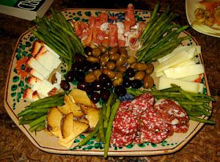 italia, antipasti y cotechino