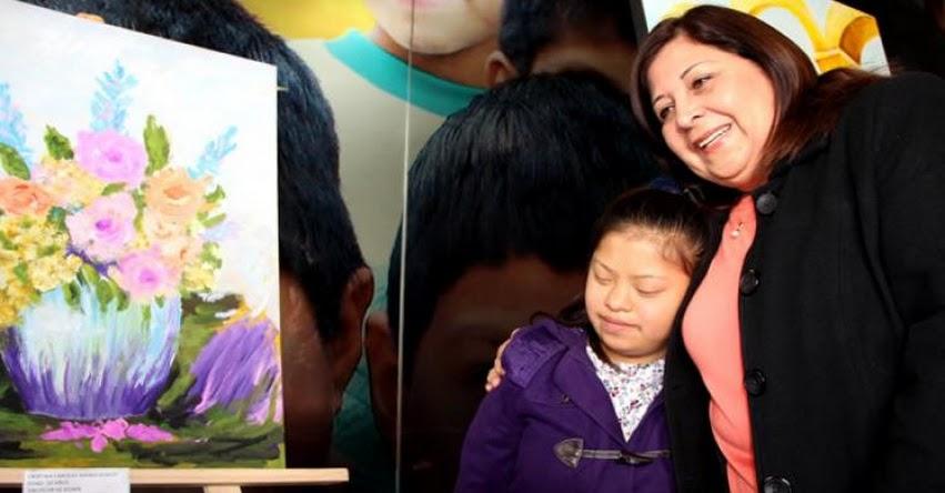 MINEDU: Estudiantes en condición de discapacidad mostraron su arte y creatividad en el Minedu - www.minedu.gob.pe