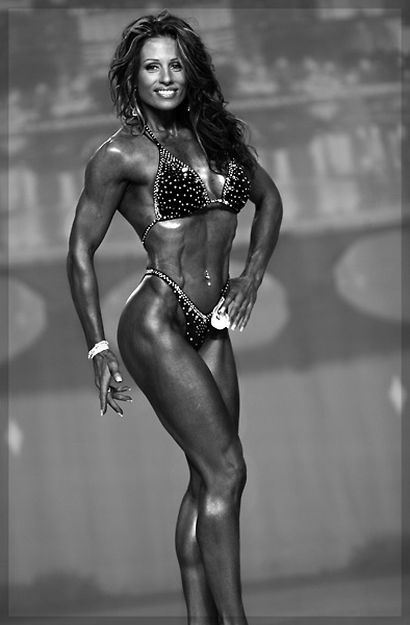Female Fitness Work Out Models