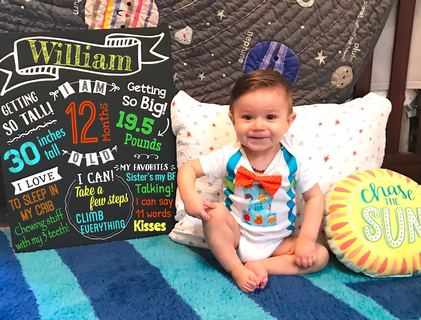 12 Months of William
