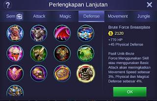 Build Item Leomord Mobile Legends Paling Sakit dan Terbaru