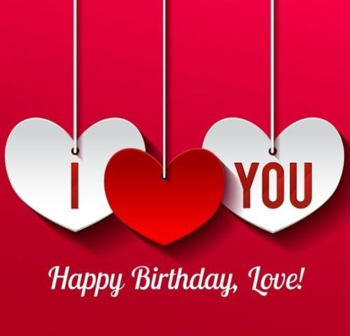 Birthday Love Quotes Inspiration Happy Birthday My Love Images Quotes Poems Letters For Him Her