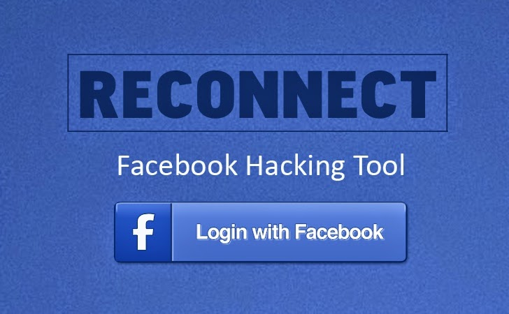 Hacking Facebook Account With Reconnect Tool