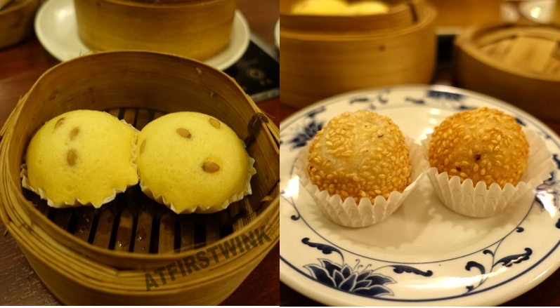 All You Can Eat dim sum hot pot Full Moon The Hague cupcake with pine nuts sesame balls