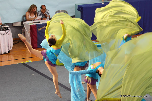 Rhythmic Gymnastics floor program II