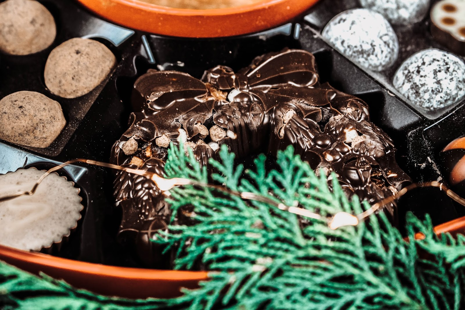 Hotel Chocolat Christmas Cookie and Caramel Wreath