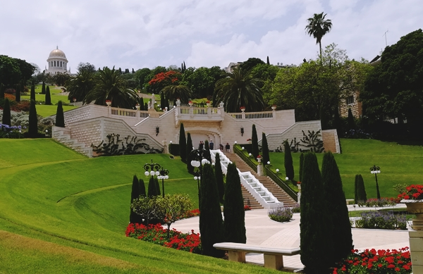 De-vazut-Gradina-Bahai-Haifa-Impresii-Israel