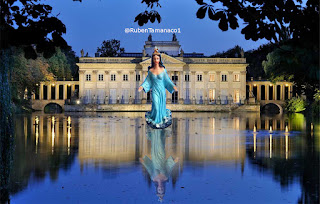 Palacio subacuático, Maria Lionza y su corte