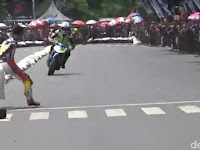 Video Dua Pembalap Road Race Bondowoso Berkelahi Jadi Viral