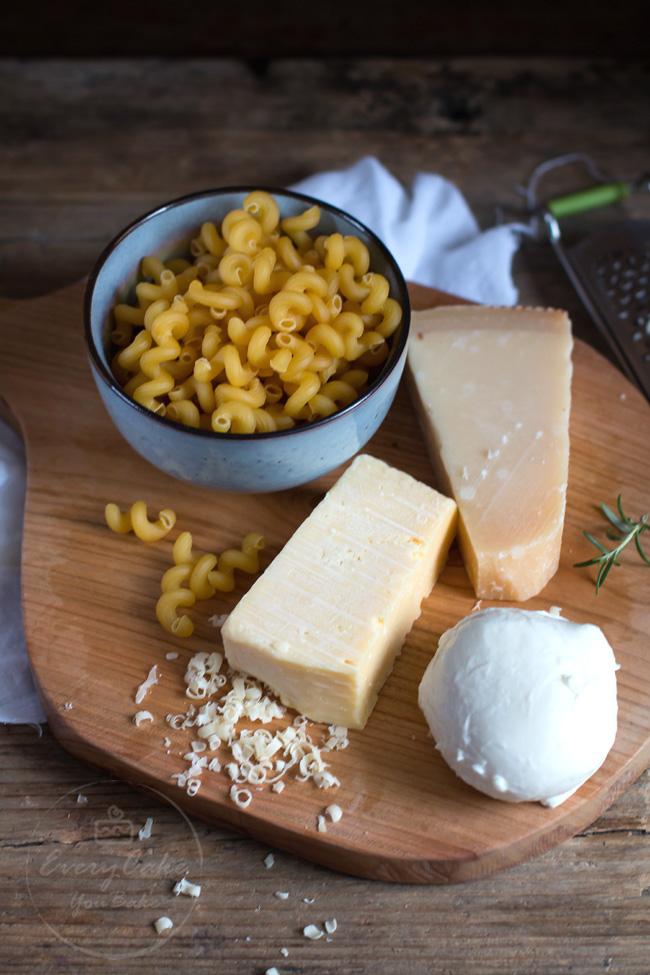 zapiekany makaron z serem - mac'n'cheese