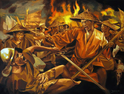 Limahong attack Spanish