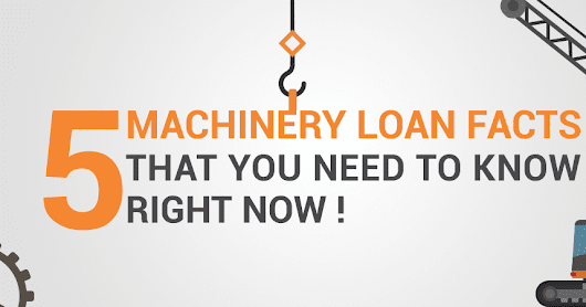 5 Machinery Loan Myths and Facts