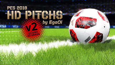 PES 2018 HD Pitch v2 by EgaOi