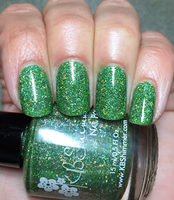 KBShimmer Mega Flame Collection, Spring 2016; Smells Like Green Spirit