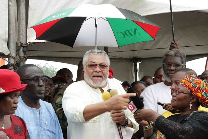 Money has replaced respect in Ghana – Rawlings