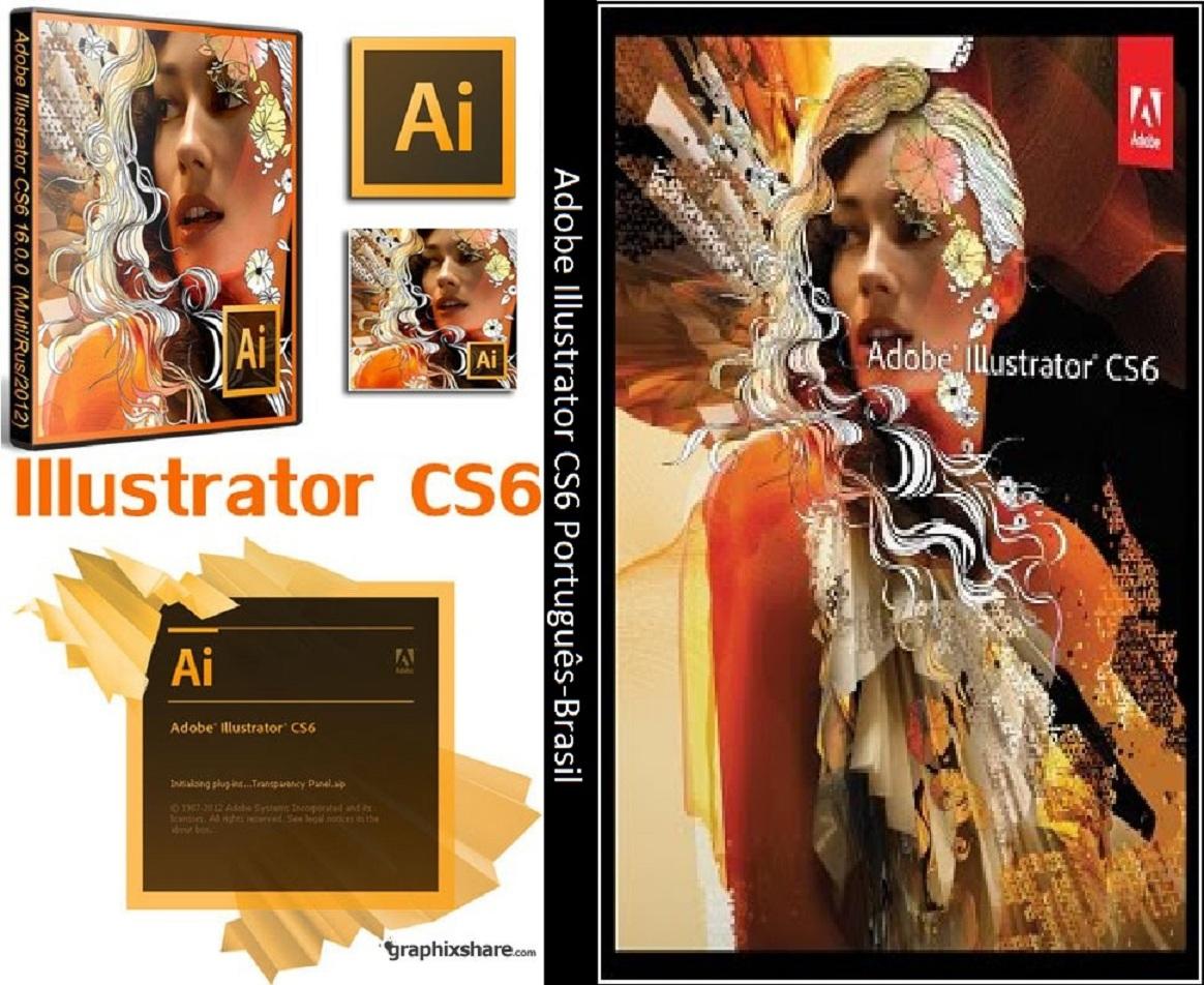 Adobe Illustrator CS6 DVD Capa