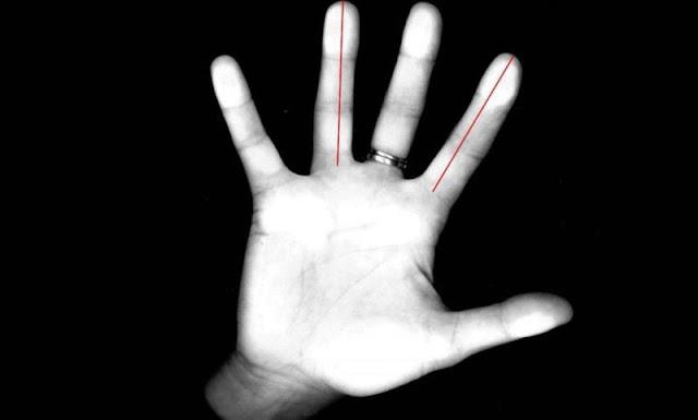 Τα δάχτυλα του χεριού αποκαλύπτουν πόσο επιρρεπείς είστε σε άγχος και κατάθλιψη
