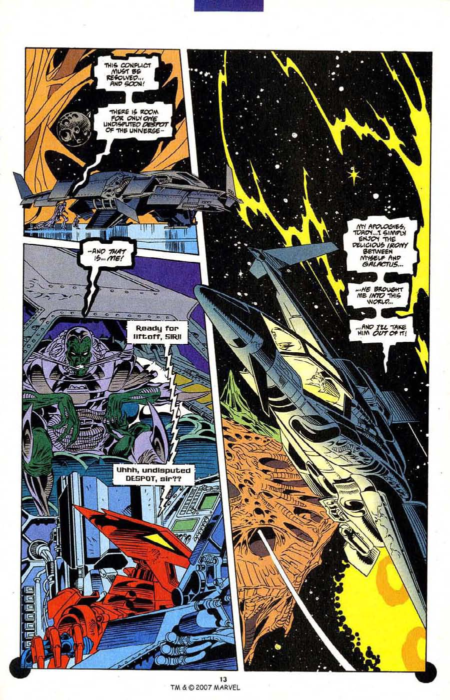 Read online Silver Surfer (1987) comic -  Issue #106 - 15