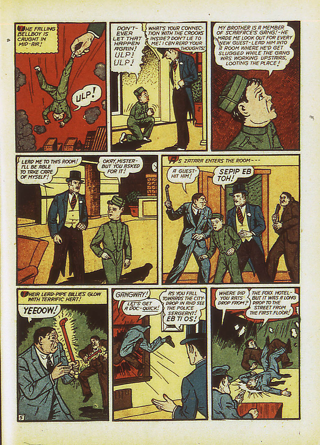 Read online Action Comics (1938) comic -  Issue #34 - 62