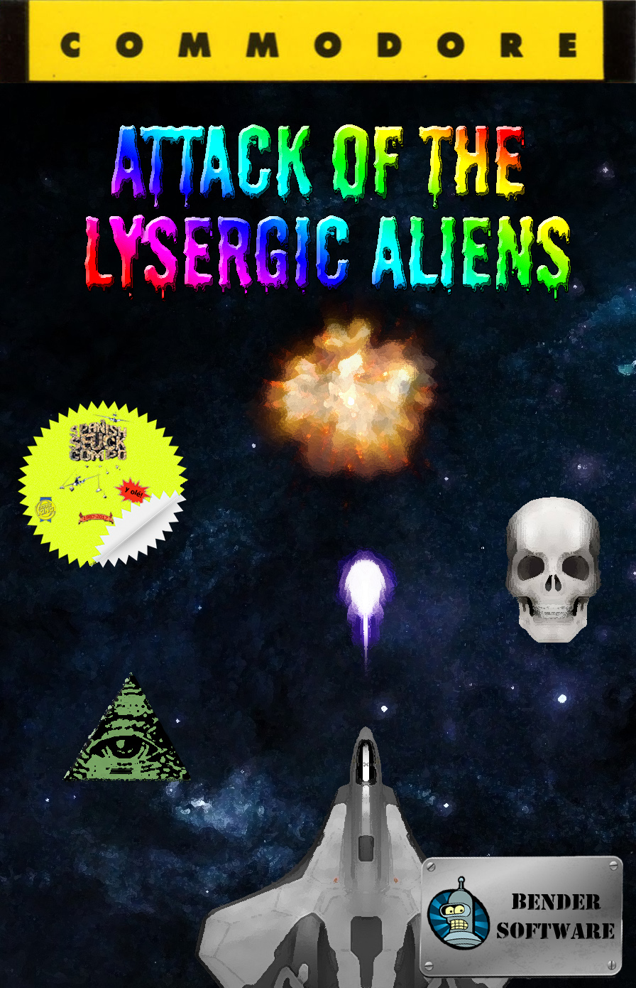 Attack of the Lysergic Aliens