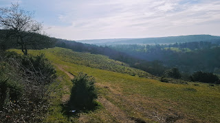 View from Coombe Hill over Chequers Estate