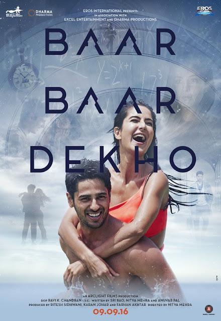 Baar Baar Dekho, Baar Baar Dekho movie, Kal Kisne Dekha movie, Sidharth Malhotra Baar Baar Dekho, Katrina Kaif Baar Baar Dekho