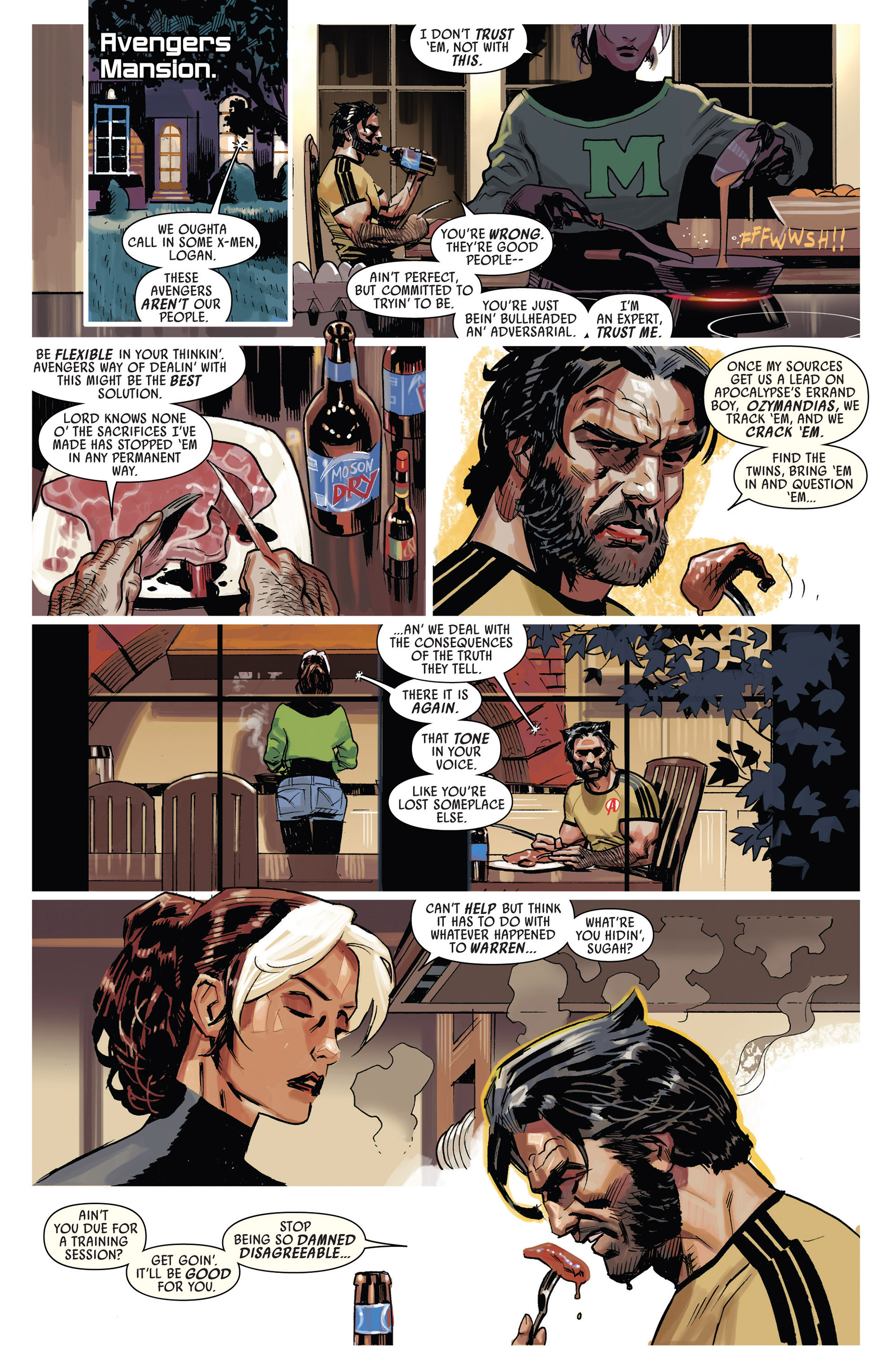 Read online Uncanny Avengers (2012) comic -  Issue #9 - 13