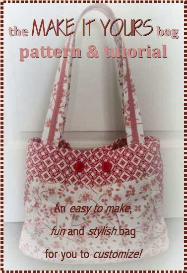 Pattern & Tutorial for the Make it Yours Bag by eSheep Designs