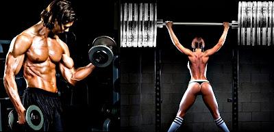 Entrenamiento pesas dos veces al día