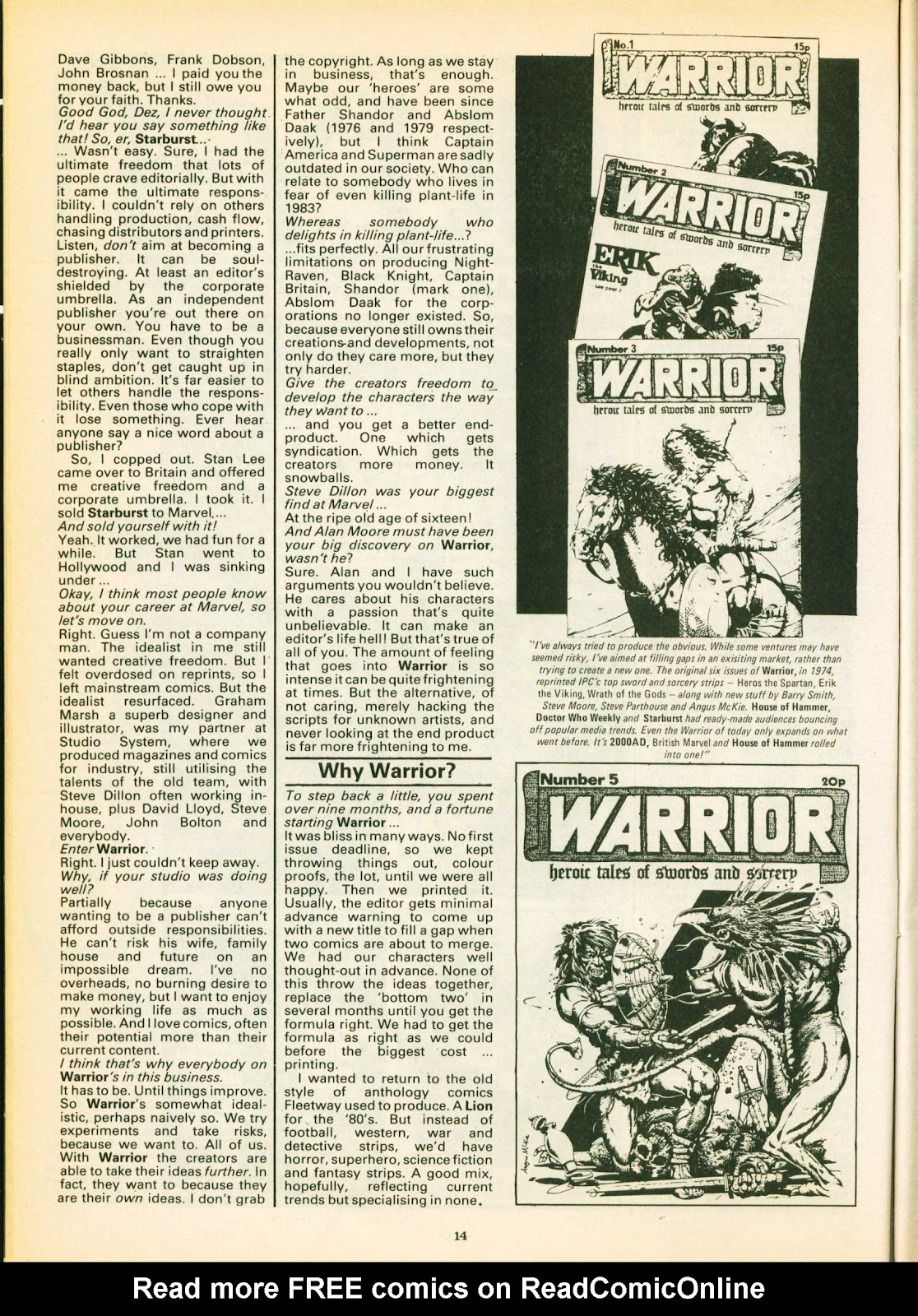 Warrior Issue #16 #17 - English 14