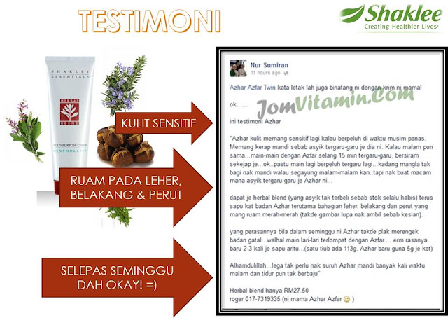 testimoni herbal blend multi-purpose cream