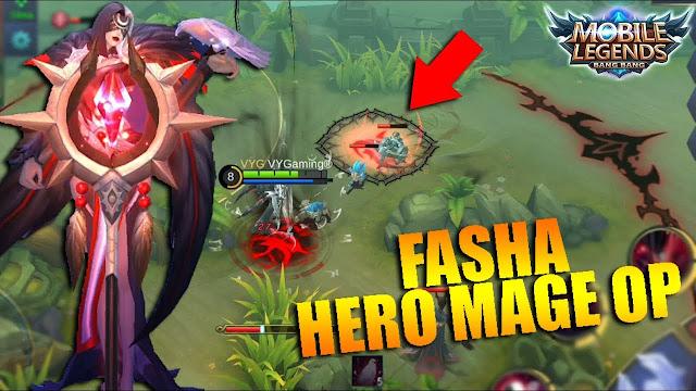 Fasha, Mage Terbaru Mobile Legends Dengan Cooldown Ultimate Skill Tersingkat