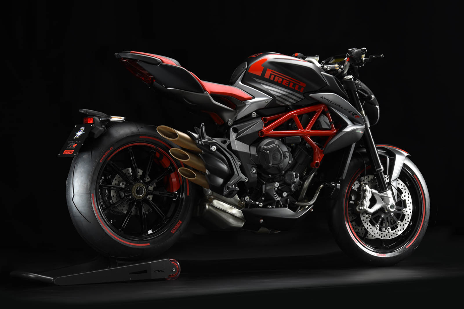 mv agusta brutale pirelli edition is the most italian bike ever carscoops. Black Bedroom Furniture Sets. Home Design Ideas