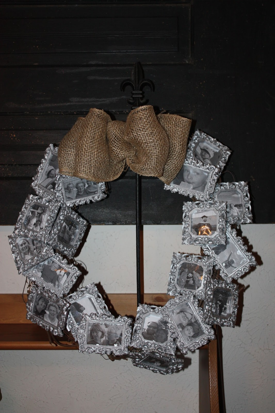 Christy Robbins Frame Memory Wreath