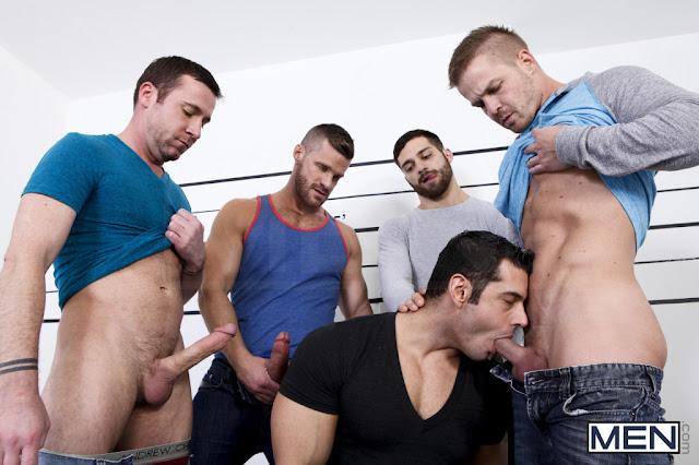 Straight pornstars go gay