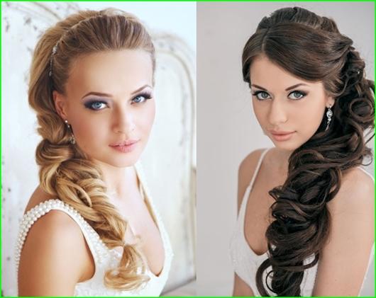 Mo De 20 Brautfrisuren Für Lange Lockige Haare