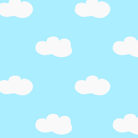 free cloud pattern