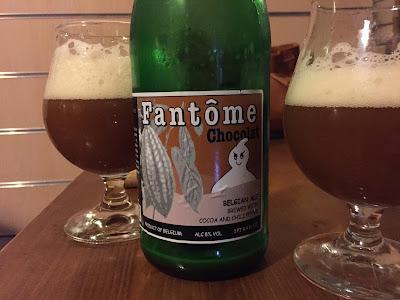 Brasserie Fantôme - Chocolat birra recensione diario birroso birra artigianale