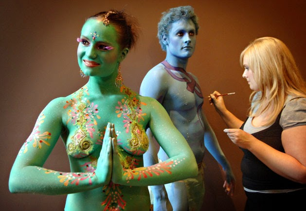 Easy Crafts Ideas To Make Best Body Paint
