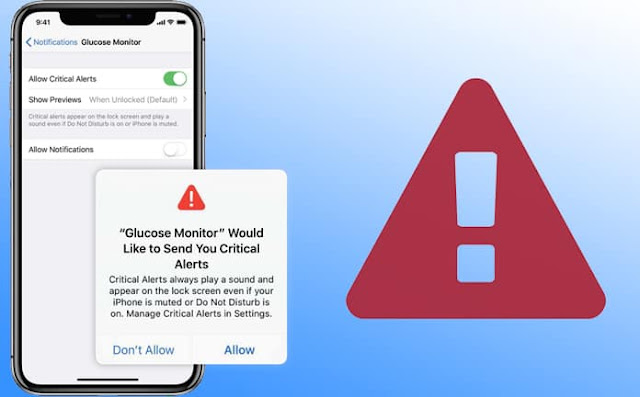 How to  Disable Or Enable Critical Alerts in iOS 12