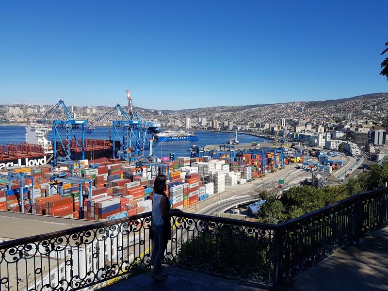 De Santiago a Valparaíso, Chile