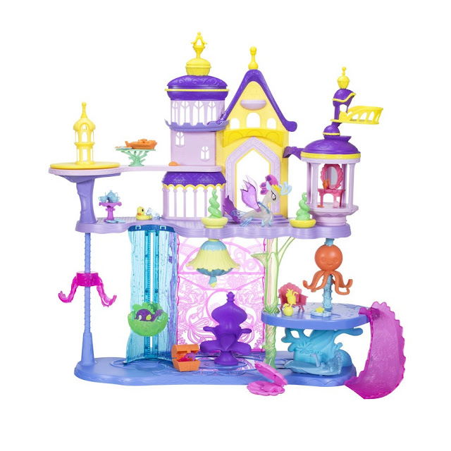 My Little Pony The Movie - Seaquestria & Canterlot Castle