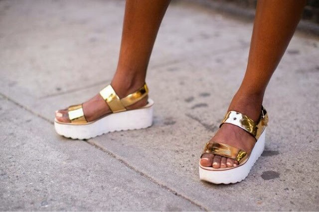 golden flatforms inspiration post