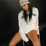 Andrea Rincon, Selena Spice Galeria 19: Buso Blanco y Jean Negro, Estilo Rapero Foto 99