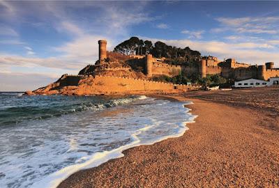 Playa de Tossa de Mar, Gerona