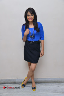 Actress Nandita Swetha Stills in Black Mini Skirt at Ekkadiki Potavu Chinnavada Movie Special Show  0058.JPG
