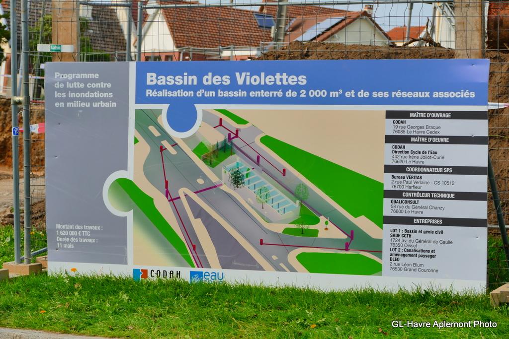 Havre aplemont photo bassin des violettes